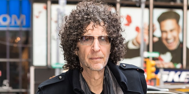 Radio and television personality Howard Stern is seen arriving to the ABC studio for GMA on May 09, 2019 in New York City.