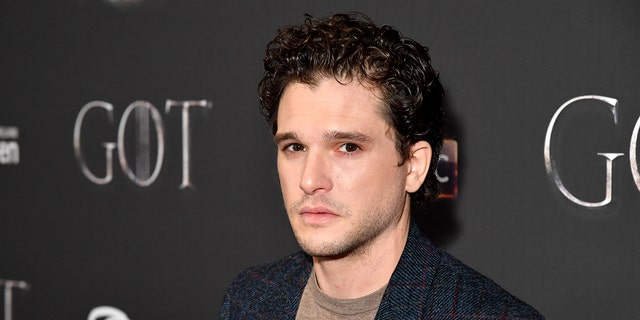 Kit Harington arrives at the Game of Thrones Season Finale Premiere at the Waterfront Hall on April 12, 2019 in Belfast, UK.