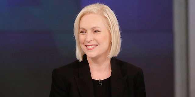"THE VIEW - Senator Kirsten Gillibrand is the guest today, Monday, 11/12/18. ""The View"" airs Monday-Friday (11:00 am-12:00 pm, ET) on the ABC Television Network. (Lou Rocco/ABC via Getty Images) SENATOR KIRSTEN GILLIBRAND"