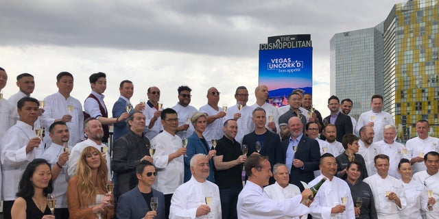 Dozens of the world's top chefs gathered in Las Vegas last week for Vegas Uncork'd.
