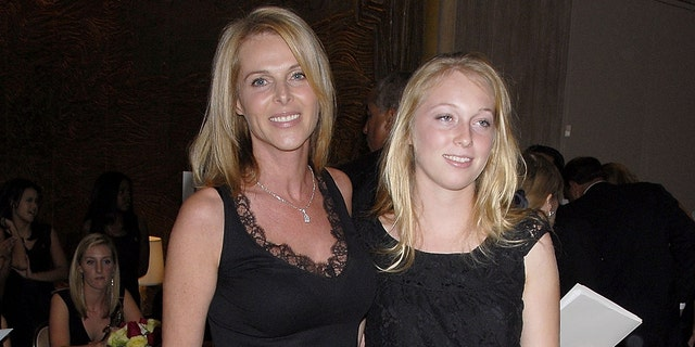 Actress Catherine Oxenberg and daughter India at the 53rd Annual Young Musicians Foundation Gala on Oct. 19, 2007, in Los Angeles, Calif.