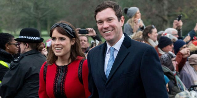 Westlake Legal Group Jack-Brooksbank Princess Eugenie was warned to 'prepare for the worst' during father-in-law's coronavirus fight: report Nate Day fox-news/world/personalities/british-royals fox-news/topic/royals fox-news/health/infectious-disease/coronavirus fox-news/entertainment/celebrity-news fox-news/entertainment fox news fnc/entertainment fnc dce6f932-849f-5aaf-bf6c-7fe0abe46406 article