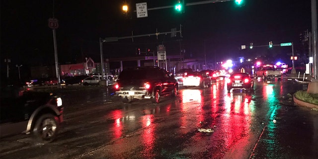 "Extensive damage was reported in Jefferson City, Missouri after a ""violent tornado"" tore through the city late Wednesday."