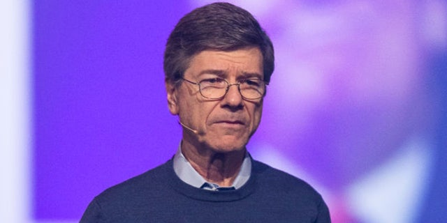 Jeffrey Sachs gives a discussion on climate change and surviving Trump during the Starmus Festival on June 21, 2017 in Trondheim, Norway. (Getty Images)
