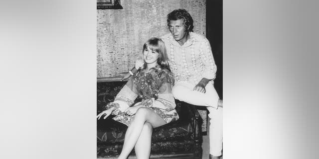 Lee Purcell said she was terrified going on a drive with mentor Steve McQueen. — Courtesy of Lee Purcell Archives