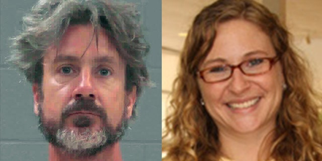 """Once on the scene, deputies encountered Heindel and a """"nude male subject,"""" who was later identified as 41-year-old Marcus Allen Lillard (left), performing CPR on 43-year-old Marianne Clopton Shockley (right), who also also found naked and unresponsive"""