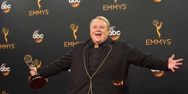 Louie Anderson pictured at the 68th Emmy Awards hosted at the Microsoft Theater in Los Angeles, Sunday, September 18, 2016.