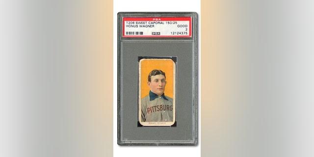 Honus Wagner Baseball Card Sells For 12 Million Fox News