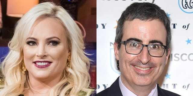"""The View"" co-host Meghan McCain was criticized by HBO's John Oliver on Sunday night."