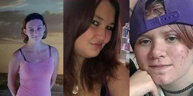 Wright is accused of killing Athina Hopson, 25 (left), Elizabeth Marie Vanmeter, 22 (center) and Joslyn M. Alsup,17 (right).