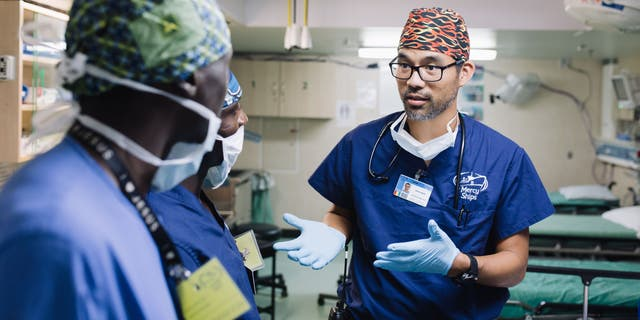 Dr. Barki, theanesthesia supervisor and deputy chief medical officer on the Africa Mercy, also helps to mentor local medical staff in Africa as part of theMedical Capacity Building program, which allows those doctors and caregivers to provide health services long after the ship has moved on.