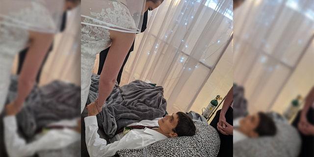 Westlake Legal Group Mitch-Laue-FB Iowa veteran, 20, marries girlfriend hours before cancer death fox-news/us/military/army fox-news/lifestyle/relationships fox-news/health/cancer fox news fnc/health fnc article Alexandria Hein 1c069b40-218e-5341-956b-fbb1acc2fecb