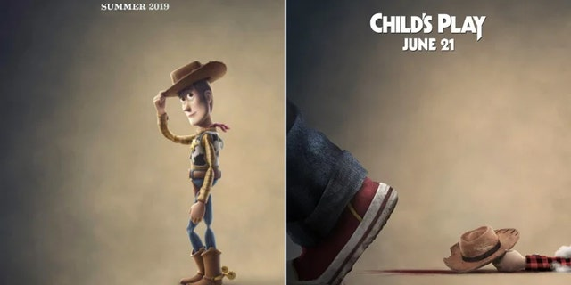"""The latest teaser poster for the upcoming reboot of """"Child's Play"""" trolled another classic film """"Toy Story."""""""