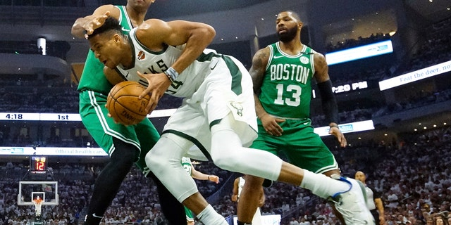 Would Horford be willing to join Luka Doncic in Dallas? (AP Photo/Morry Gash)