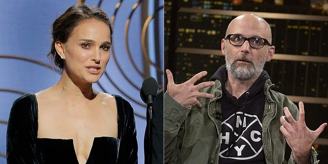 Portman refuted Moby's claim that the two dated.