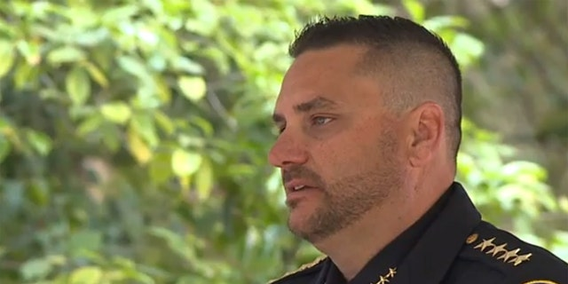 """Newman Police Chief Randy Richardson scolded California lawmakers during a ceremony to remember fallen officers on Monday, saying that """"policies that are coming from across the street are making it more difficult to do things."""""""