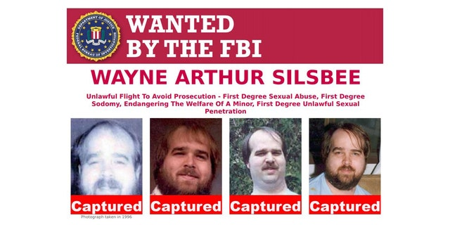 Wayne Arthur Silsbee turned himself into Oregon police on Friday.