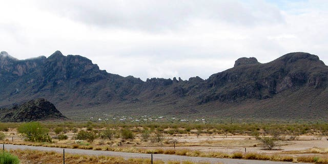 Photo taken in 2009 shows Picacho Peak State Park in Picacho, Arizona. (AP Photo/Ross D. Franklin)
