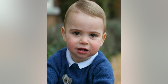 Prince Louis, the third child of Kate Middleton and Prince William, turned one year old on April 23. He is fifth in line for the throne. (Duchess of Cambridge/Kensington Palace via AP, File)