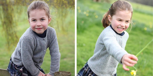 With Princess Charlotte's 4th birthday fast approaching, her royal parents on Wednesday released a bunch of new photos of her in honor of the big day.