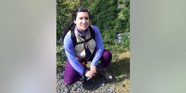 Plane passenger Sarah Luna began working at theAlaska Native Tribal Health Consortium last year.