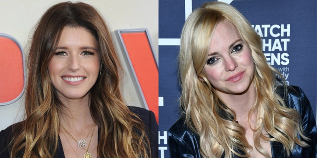 Katherine Schwarzenegger gave credit to Anna Faris for her successful podcast.