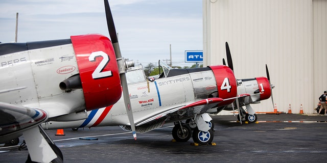The Geico Skytypers perform air shows across America. (Alex Quiles/Fox News)