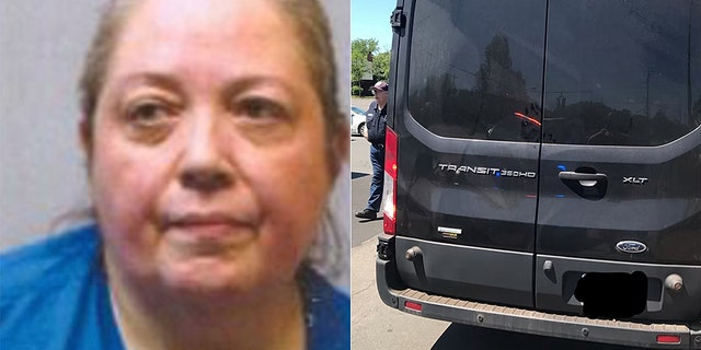 Suzanne Eser, 58, was charged with animal cruelty after police discovered 21 dogs and a Macaw living in her van on Monday.