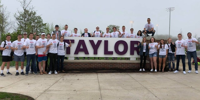 Westlake Legal Group TaylorLikesMike Taylor University student starts 'I Like Mike' campaign in support of Pence fox-news/us/education/college fox-news/person/mike-pence fox-news/faith-values/faith fox news fnc/us fnc e3855272-6090-5b63-8eb1-c6e7ef21c509 Caleb Parke article