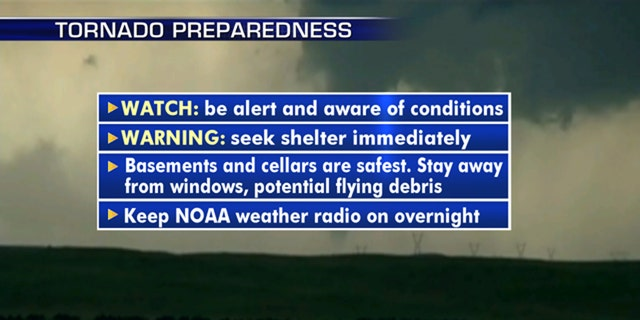 Steps you can take to prepare for severe weather in your area.