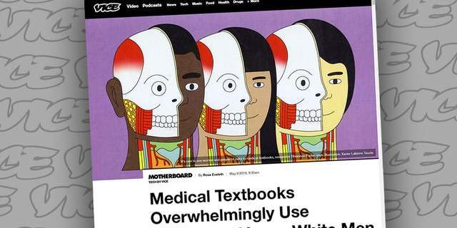 A Vice article on bodies in medical textbooks triggered mockery.