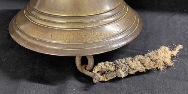 The bell from LCI 403. (Credit: Henry Aldridge and Son)
