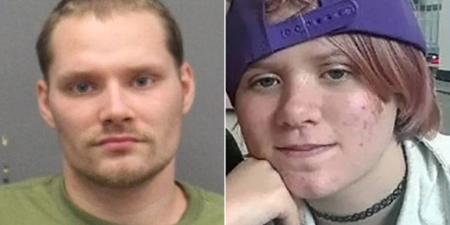 James Michael Wright, 23, (left) was said to have metJoslyn Alsup, 17, (right) last yearat the North Georgia State Fair in Cobb County.