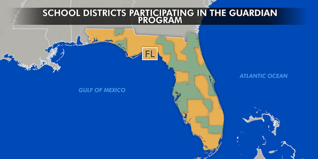 25 of Florida's 67 school districts, including Broward County, where Parkland is located, are participating in the guardian program.