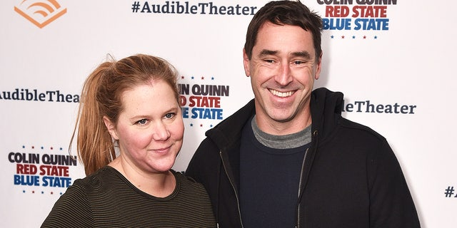 Amy Schumer welcomes son with Chris Fischer