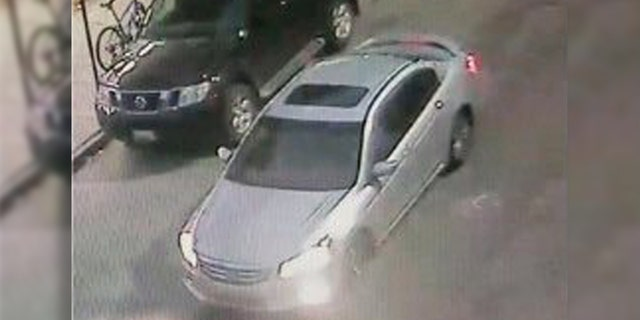 ATF said it was looking for this vehicle after an infant and a toddler were injured in a shooting in Baltimore on Friday night.