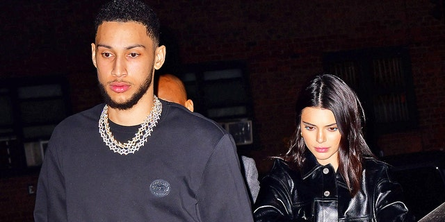 Ben Simmons and Kendall Jenner step out for Valentine's Day in New York City. Jenner confirmed their romance, but keeps it generally private.