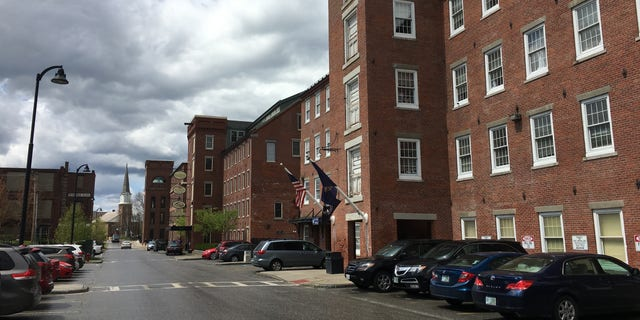 Renovated mill buildings in Claremont, N.H., are now home to service industries and commercial establishments as the one-time downtrodden city recovers from tough economic times