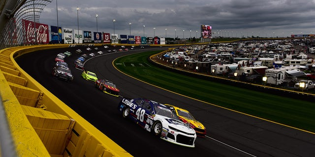 The Coca-Cola 600 is a Memorial Day weekend tradition in NASCAR.