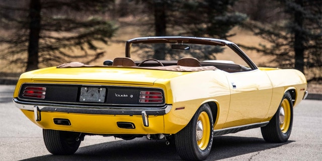 Rare Plymouth Hemi Cuda muscle car sold for nearly $2