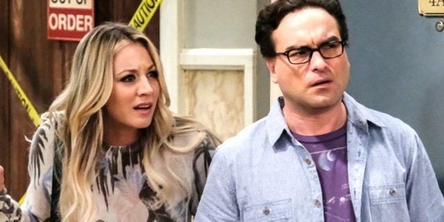'Big Bang Theory' star Kaley Cuoco talks filming sex scenes with ex Johnny Galecki
