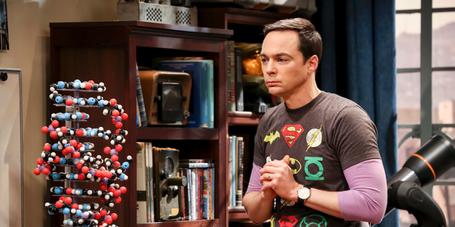 Jim Parsons played Sheldon Cooper on 'The Big Bang Theory.'