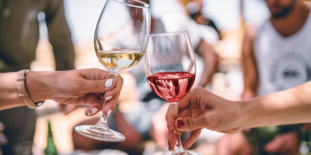 In addition to looking at the differences in personality, the survey also examined each groups' knowledge when it came to drinking wine, as well as hosting and attending events.