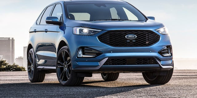 The Ford Edge ST has a 335 hp version of the Fusion Sport's engine.
