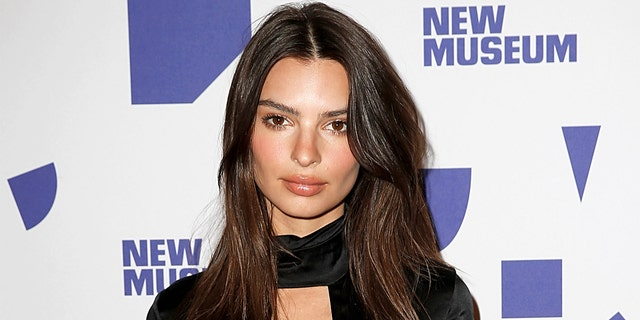 Emily Ratajkowski attends New Museum 2019 Spring Gala at Cipriani Wall Street on April 03, 2019, in New York City.