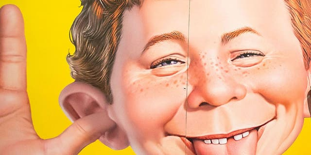 Alfred E. Neuman has been the official cartoon face of Mad since 1956.