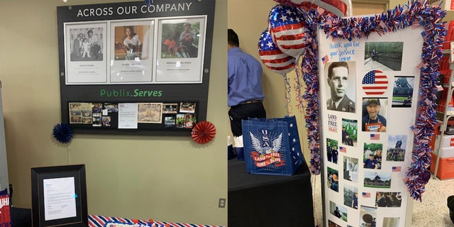 Westlake Legal Group f7c6f7d8-B Veteran, 87, honored at his Publix job for Armed Forces Day Janine Puhak fox-news/us/personal-freedoms/proud-american fox-news/lifestyle fox news fnc/food-drink fnc article 6fb5b779-7c40-5c92-a411-045a7212d676
