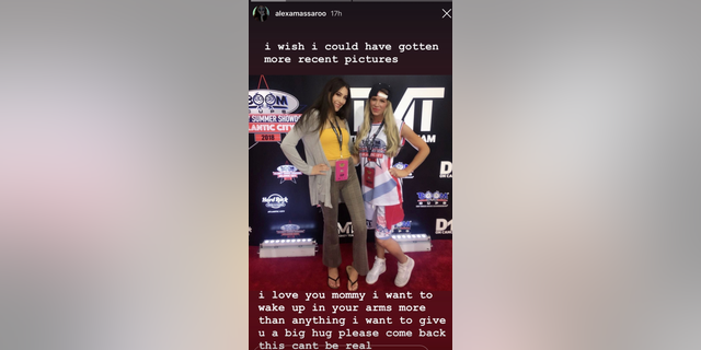 Ashley Massaro's daughter shares heartbreaking post after