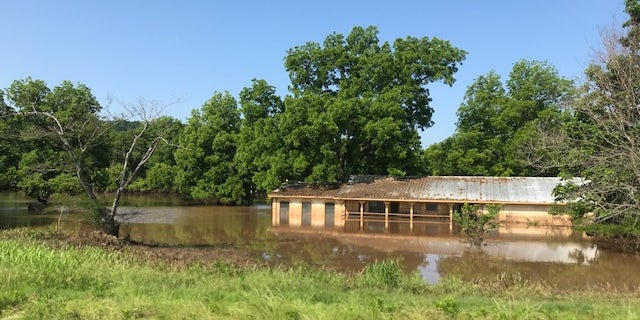 Rural areas are the hardest hit in the Oklahoma flooding