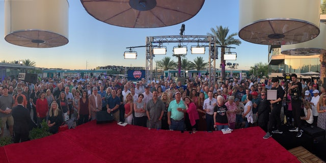 Fox News' most passionate fans gathered at the first Fox Nation summit in Scottsdale, Arizona.